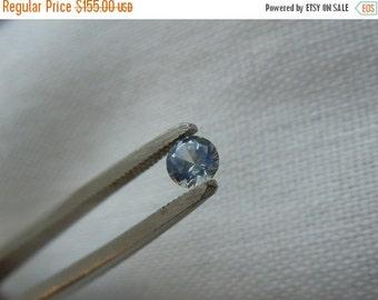 SEPTEMBER SALLE Loose Montana Sapphire White/Blue .29 carat Round
