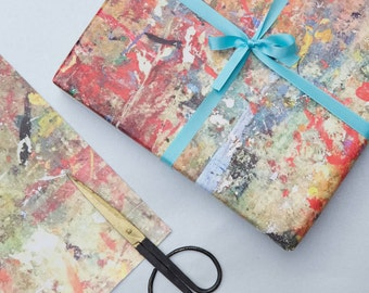 Print Works Gift Wrap - Wrapping Paper - Paint Splatter - abstract painting - wall art - gift wrapping paper - gift wrapping
