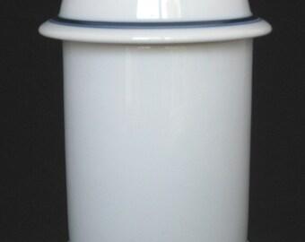 Dansk Christianshavn Blue Bistro Storage Jar / Canister -Niels Refsgaard Mid Century