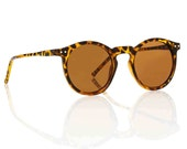 OMalley Round Tortoise Sunglasses - Brown Lens X American Deadstock