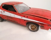 Classicwrecks Starsky and Hutch Rusted Scale Model Ford Torino