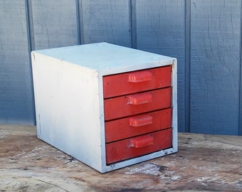 Metal File Cabinet with 4 Drawers - Tool Chest