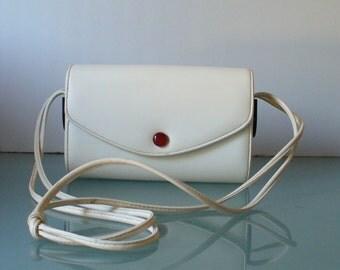 Vintage  Harry Rosenfeld Box Style Duel Shoulder Bag