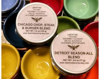 Chicago or Detroit Inspired Gourmet Seasoning Blends