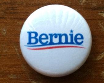 "Bernie Logo Bernie Sanders 1"" Pin Back Button"