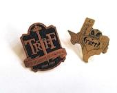 PRE-ORDER: TRFF Logo and Texas 2016 Pin Set (2 Pins!)