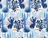 Organic Moody Blues Yardage - Cactus