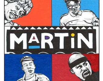 MARTIN poster print