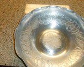Vintage Hand Wrought Aluminum Dish by Wilson Specialties Co.