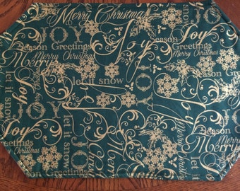 Christmas Placemat Set (8)