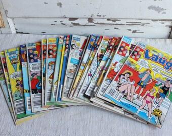 Vintage Archie Jughead Betty Veronica Laugh Comic Books 23