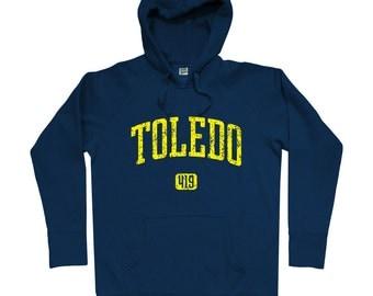 Toledo 419 Hoodie - Men S M L XL 2x 3x - Toledo Ohio Hoody, Sweatshirt - 4 Colors