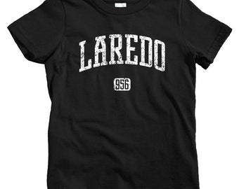 Kids Laredo 956 T-shirt - Baby, Toddler, and Youth Sizes - Laredo Texas Tee - 4 Colors