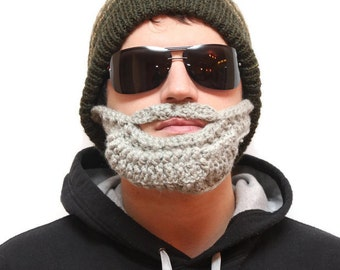 Beard hat - beard hats, bearded beanies, bearded beanie, hats with beards, hat with beard, beard head, beard heads, beard