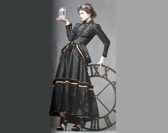 Steampunk Dress, Costume Pattern,  Simplicity 2207, Bustle, Arrivestray Collection, Halloween Costume, Size 6, Size 8, Size 10, Size 12