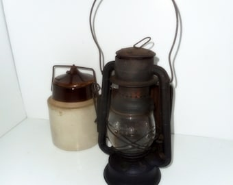 Dietz Wagon Lantern ,Vintage Lantern, Buggy Lantern, Vintage Lighting