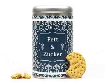 FETT & ZUCKER Keksdose