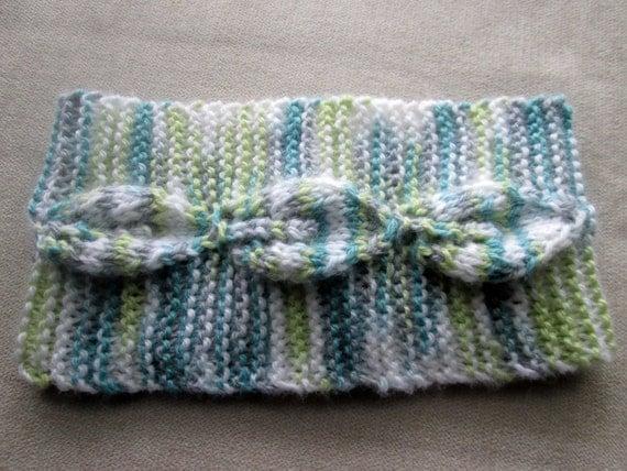 Earwarmer Knitting Pattern, Knit Headband Pattern, Knitted ...
