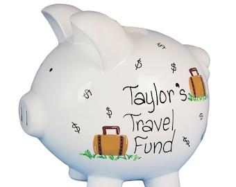 Honeymoon fund etsy for Travel fund piggy bank