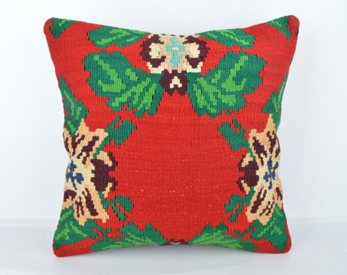 Wool Pillow, Kilim Pillow, KP1117,  Decorative Pillows, Designer Pillows,  Bohemian Decor, Bohemian Pillow, Accent Pillows, Throw Pillows