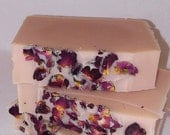 Perfect Rose Vegan Soap with French Rose Clay and Organic Ylang Ylang