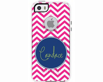 Chevron Personalized Otterbox Commuter Case for iPhone SE, iPhone 6/6s PLUS, iPhone 6/6s, iPhone 5c, iPhone 5/5s, Galaxy S7