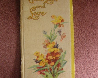 Victorian Book of Love Poems, Beautiful Illustrations.