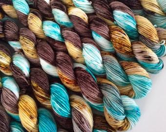 classic {sock} mini's | BLISS | ready to ship | hand dyed yarn | merino nylon