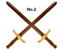 Wooden Toy Sword Of Might No.2, gift for boy