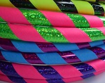 SALE Custom DANCE Collapsible Hula Hoop // Pick ANY 2 Colors // Dance Hoop // 1/2 125psi // Any Size // DeSiGn YoUr OwN HoOp // Budget