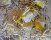 Custom Listing for Josephine Hart - White & Yellow String Lights