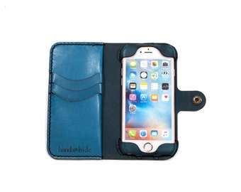 iPhone 6 (s) Leather Wallet Case, Ready to Ship, iphone 6s wallet, iphone 6 case, leather iphone case
