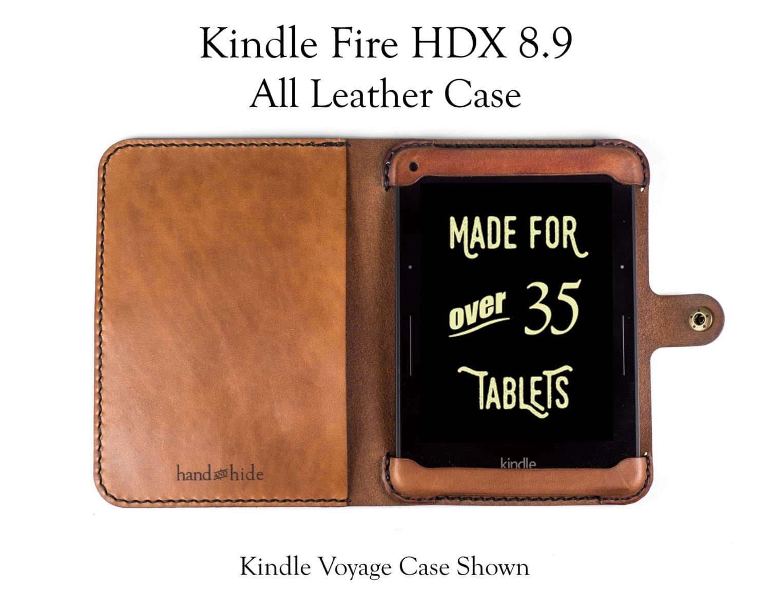 Kindle Fire HDX 8.9 Case All Leather No Plastic Free