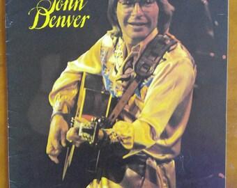 John Denver - John Denver concert program-John Denver concert tour- 1977 concert