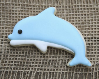 Dolphin Cookies / Summer Party / Dolphin Favor / Dolphin Party / Beach Party / Pool Party / Dolphin Decor / Under the Sea Party Favor
