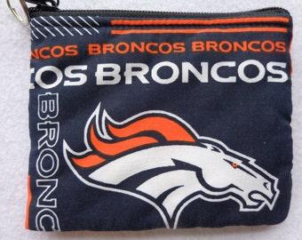 Coin Bag: Broncos