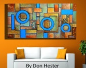 abstract  painting, Painting, abstract,  canvas painting, original painting, modern painting,  modern design, by HesterPaintings