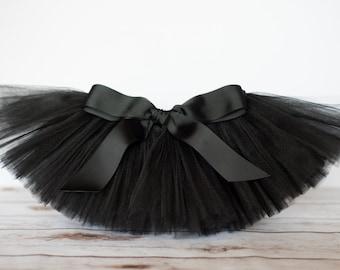 "Black tutu ""Desaraye"" girls tutu children's tutu photo prop birthday tutu skirt size 5,6,7,8,10,12 dress up skirt"