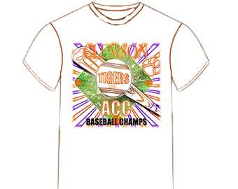 Clemson ACC Baseball Championship Tee Shirt