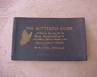 Charming Butterfly Identification Guide by W.J. Holland LL.D.