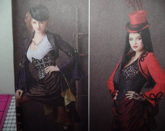 Steampunk Victorian Misses  Size  6-12  Simplicity 1819 costume