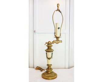 Swing Arm Brass Desk Lamp Grecian Style High Quality
