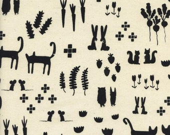 Print Shop - This + That in Black - Alexia Marcelle Abegg for Cotton + Steel - 4039-02 - 1/2 Yard