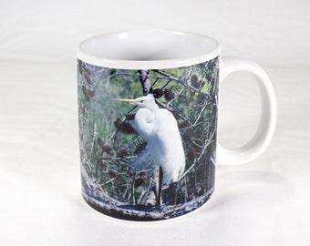 Snowy Egret Gift Mug