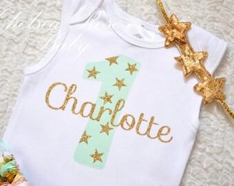 Twinkle Little Star Gold headband