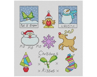 Christmas - Quick and Easy Cross Stitch / PDF Pattern
