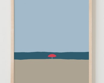Fine Art Print.  Beach.  May 29, 2012.