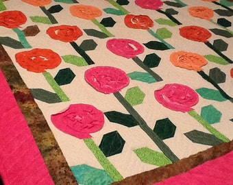 Lollipop Flower Quilt