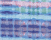 Snuggle Flannel Prints - Rippled Purple Tie Dye - 31 inches
