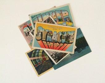 Set of 5 Vintage New York postcards